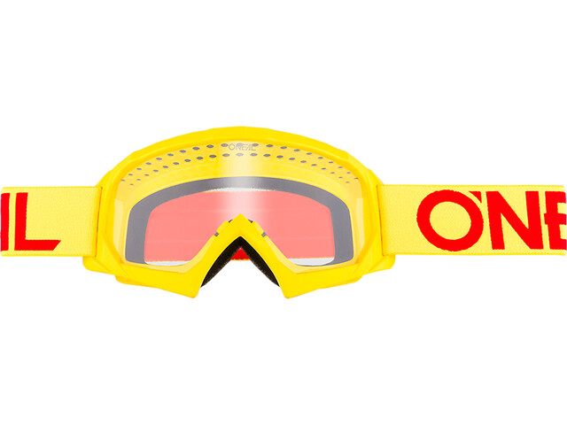O'Neal B-10 Goggles Børn, solid neon yellow/red